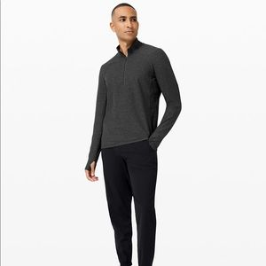 LULULEMON - Surge Warm 1/2 Zip Heathered Graphite